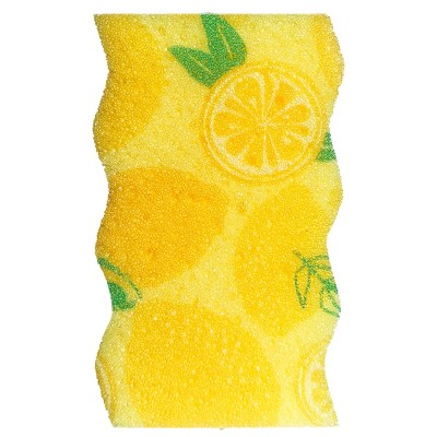 Bright Box Wave Scrub + Wipe - Yellow