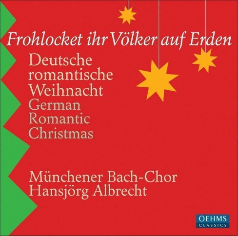 Muenchener bach-chor - German romantic christmas (Frohlocket (CD) - image 1 of 1