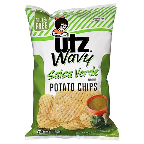 Utz® Salsa Verde Wavy Potato Chips 2.87 oz - image 1 of 1