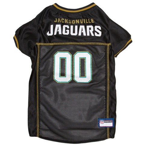 NFL Jacksonville Jaguars Pets First Mesh Pet Football Jersey - Black XS