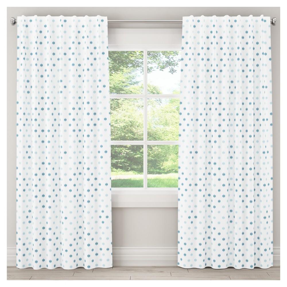 Ikat Spot Blackout Curtain Panel (84