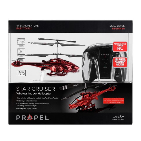 Propel Radio Control (RC) Drone - Star Cruiser - Red - image 1 of 5