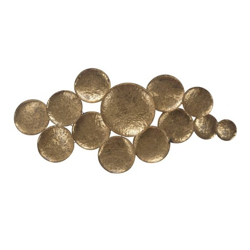 Aden Wall Sculpture Gold - A&B Home - image 1 of 1