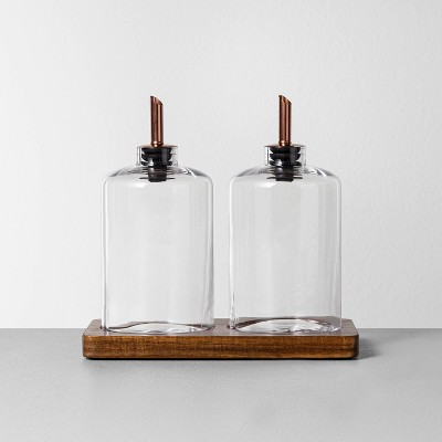 Oil & Vinegar Pour Set - Hearth & Hand™ with Magnolia