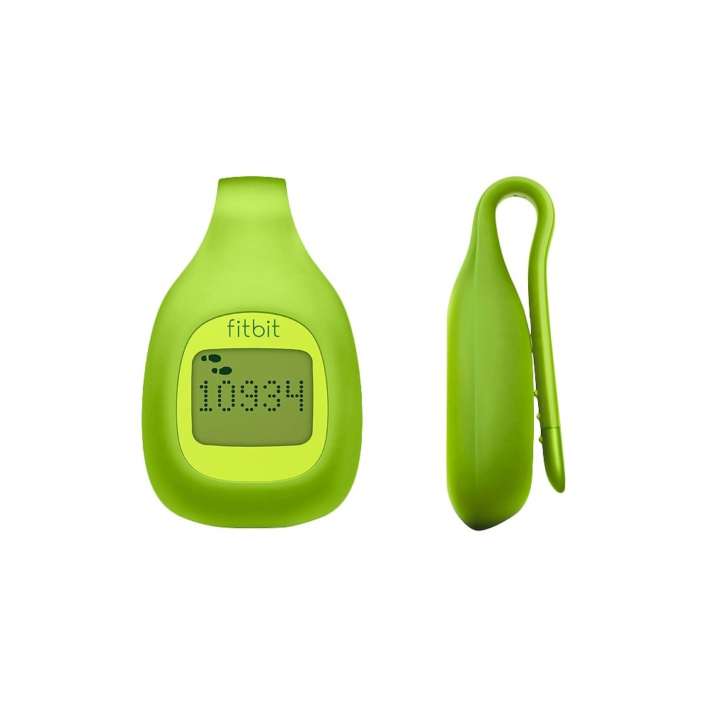 Fitbit Zip Wireless Activity Tracker - Lime (Green) (FB301GT) What gets measured gets improved. A 2012 Wired editors pick, Fitbit's Zip Wireless Activity Tracker helps you achieve fitness goals by measuring your everyday activity. More advanced than a pedometer, the Zip accelerometer tracks your steps, distance and calories burned and syncs those stats to your computer or select smartphone. You'll come to love this little fitness tracker, which celebrates how much you do each day and encourages you to go farther by setting goals one step at a time. Color: Lime.