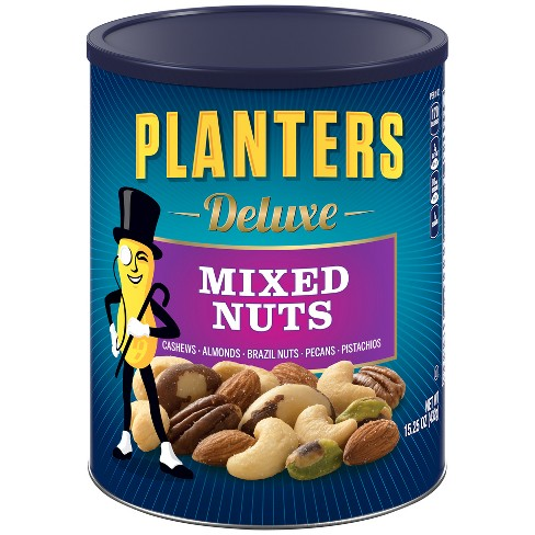 Planters Deluxe Sea Salt Mixed Nuts - 15.25oz - image 1 of 3
