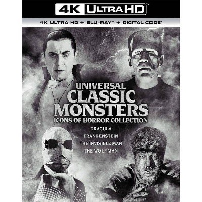 Universal Classic Monsters: Icons of Horror Collection (4K/UHD)(2021)