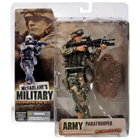 McFarlane Toys Military 2nd Tour of Duty Army Paratrooper Action Figure [Caucasian] - image 1 of 1