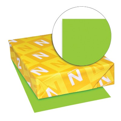 Astrobrights Card Stock, 8-1/2 x 11 Inches, Martian Green, pk of 250