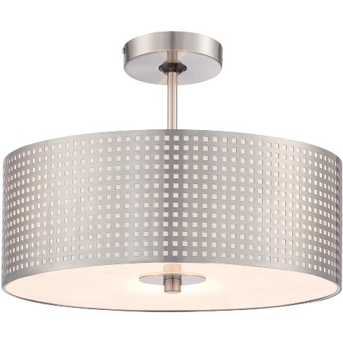 Kovacs P5747 084 3 Light 16 Wide Semi Flush Ceiling Fixture From The Grid Collection Target