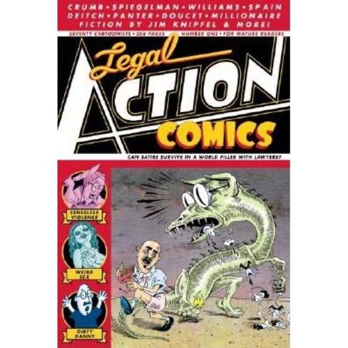 Legal Action Comics Volume 1 - (Paperback) - image 1 of 1