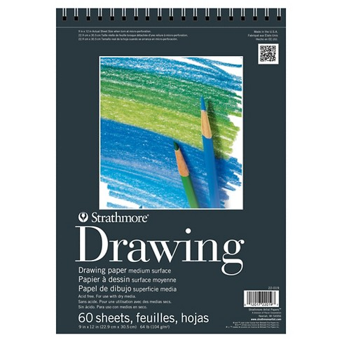 Strathmore® 9x12 Spiral Drawing Paper Pad - 60ct - image 1 of 1
