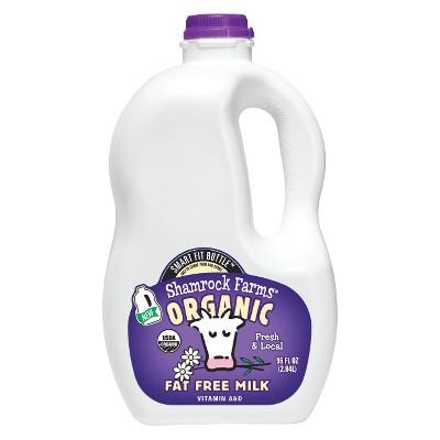 Shamrock Farms Organic Skim Milk - 96 fl oz