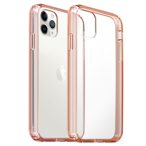 Insten Clear Case Compatible With Iphone 11 Pro 5 8 Protective Reinforced Tpu Pink Bumper Acrylic Hard Back Cover Target