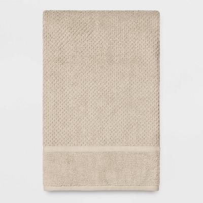 Performance Texture Bath Sheet Bare Canvas Tan - Threshold™