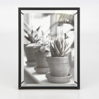 "5"" x 7"" Frame with Symmetrical Wire Back Satin Black - Project 62™"