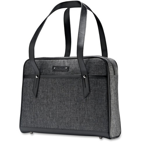 "Samsonite Heathered Carrying Case (Briefcase) for 15.6"" Notebook - Gray - image 1 of 1"