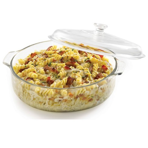 Libbey Baker's Basics 3qt Glass Casserole with Cover - image 1 of 4