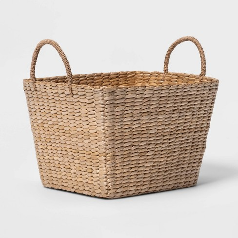 Square Decorative Baskets Natural - Threshold™ - image 1 of 4
