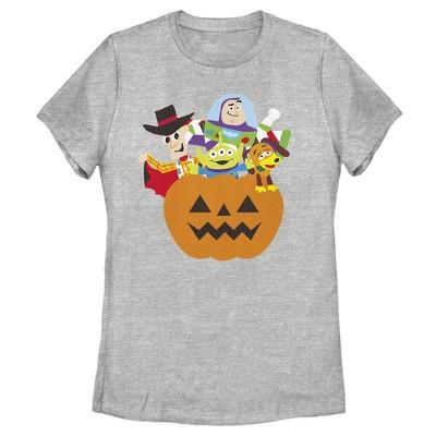Women's Toy Story Halloween Toy Treats T-Shirt