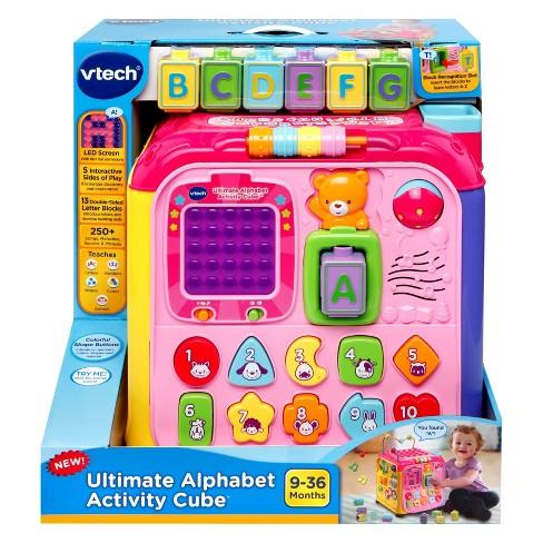 Vtech Ultimate Alphabet Activity Cube Pink
