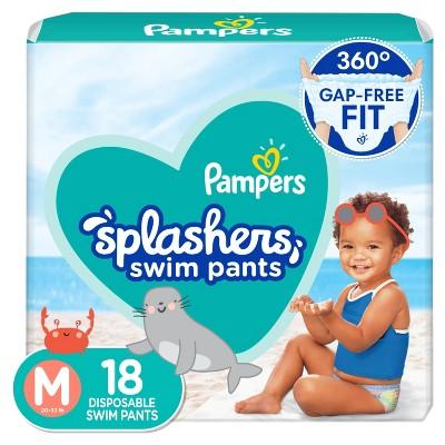 Pampers Splashers Disposable Swim Pants - Size M (18ct)