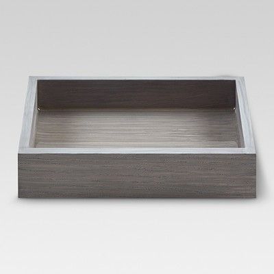 Wood Soap Dish Gray - Project 62™