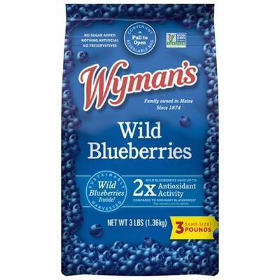 Wyman's Fresh Frozen Wild Blueberries - 3lb