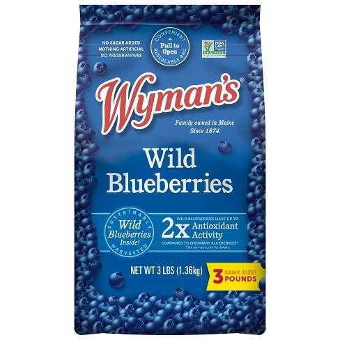 Wyman's Fresh Frozen Wild Blueberries - 3lb - image 1 of 4