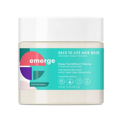 Emerge Back to Life Deep Conditioning & Revive Hair Mask - 15oz