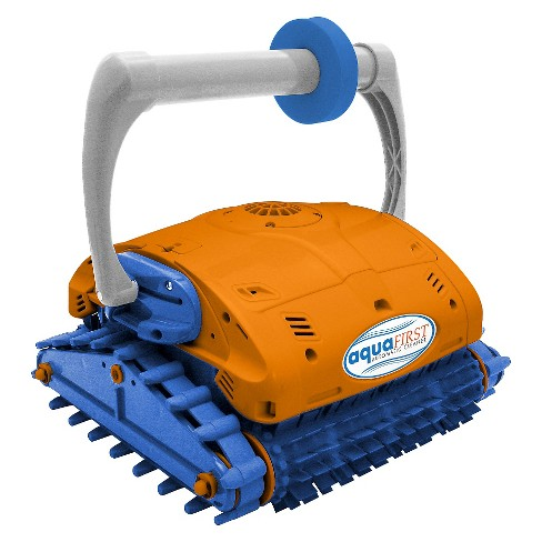 Aquafirst Turbo Robotic Wall Climber Cleaner w/ Remote Control for In Ground Pools - image 1 of 1