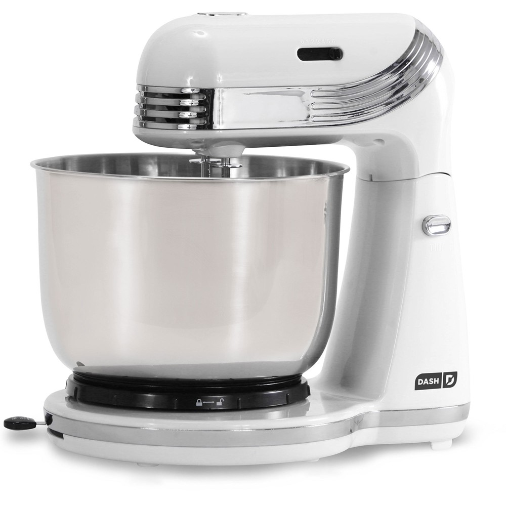 Image of Dash Everyday 3qt Stand Mixer - White DCSM250WH