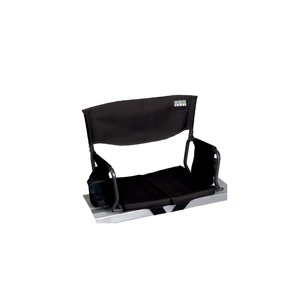 Image of Rio Gear Bleacher Boss Compact Stadium Seat - Black