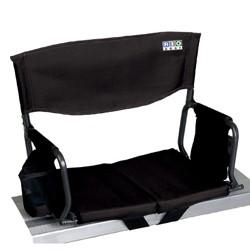 Rio Gear Bleacher Boss Compact Stadium Seat - Black
