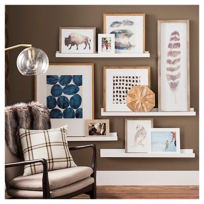 Ledge Wall Shelf Gallery Wall