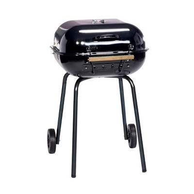Americana Swinger 4100 Charcoal Grill - Black - Meco