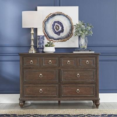Southport Dresser Dark Aged Oak - Home Styles