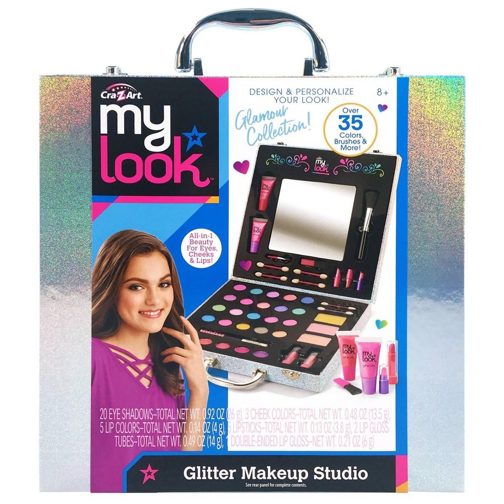 My Look Glitter Makeup Studio By Cra Z Art