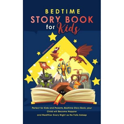 Bedtime Story Book for Kids - by  Serena Hansen (Hardcover)