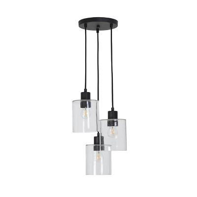 Hudson Industrial 3 Cluster Ceiling Lights (Includes Bulb) - Threshold™