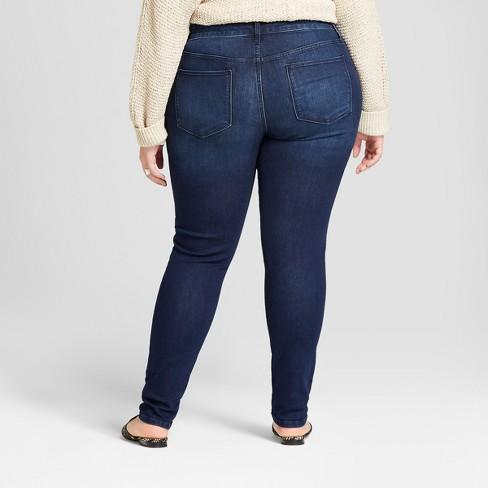 c568216cf4f Women s Plus Size Skinny Jeans - Universal Thread™ Dark Wash   Target