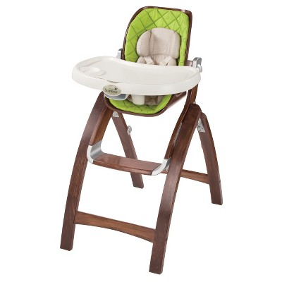 Summer Infant® Bentwood High Chair -Baby Time Green