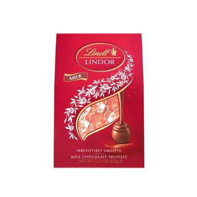 Lindt Lindor Milk Chocolate Truffles - 15.2oz