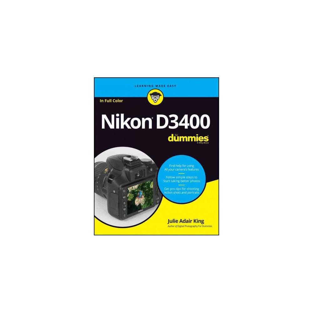 Nikon D3400 for Dummies (Paperback) (Julie Adair King)