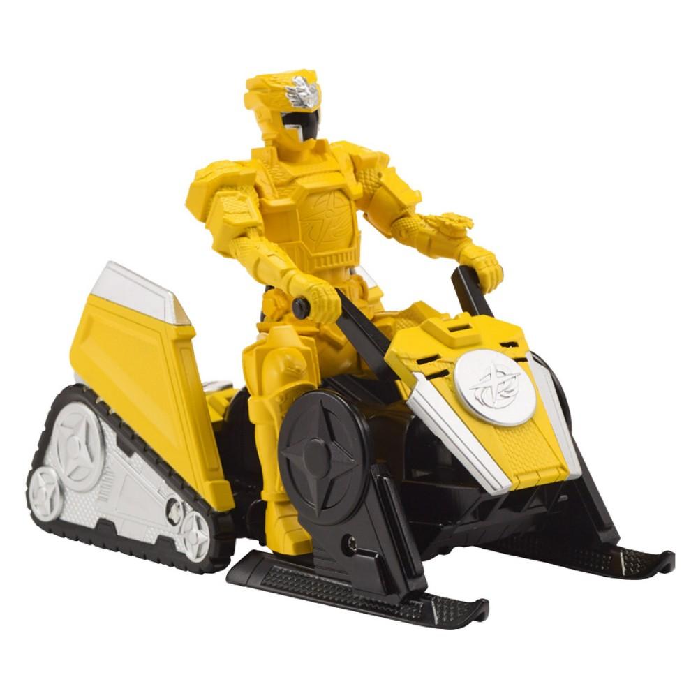 Power Rangers Super Ninja Steel Yellow Mega Morph Alp Attack