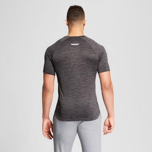 7e767bb109eb Men's Running Jacquard T-shirt - C9 Champion® Thundering Gray Heather XL :  Target