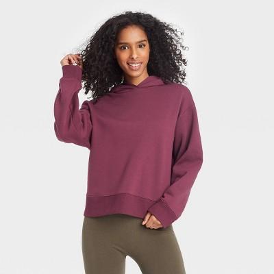 Women's All Day Fleece Hooded Sweatshirt - A New Day™