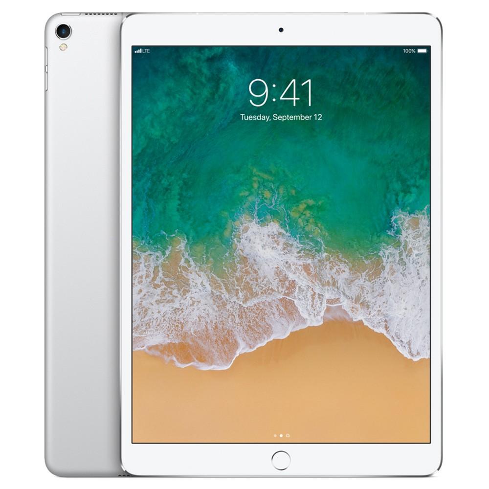 """Apple iPad Pro 10.5"""" Wi-Fi + Cellular 256GB (2017 Model, MPHH2LL/A) - Silver"""