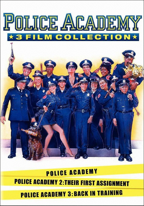 Police academy 1-3 collection (DVD) - image 1 of 1