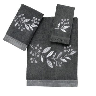 Avanti Madison 3 Pc Towel Set - Granite